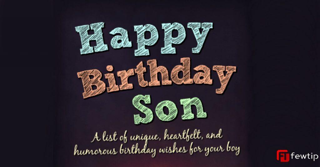 birthday prayer for son
