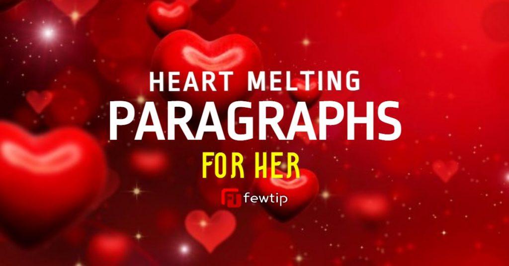 Heart Melting Paragraphs for Her